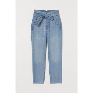 H&M LIKE NEW paperbag waist jeans